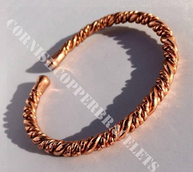 Copper Twisted Bracelet