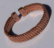 Magnetic Solid Pure Copper Woven Bracelet ( CCB-MB5 )
