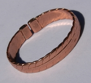 Magnetic Solid Copper Heavy Mans Bracelet ( CCB-MB29 )