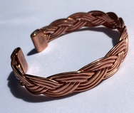 Magnetic Solid Pure Copper Plaited Bracelet ( CCB-MB21 )