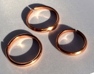 Non Magnetic Solid Copper Plain Ring ( CCB-CR5 )