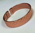 Magnetic Solid Pure Copper Diamond Pattern Bracelet ( CCB-MB93 )