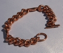 Magnetic Pure Copper Mens Chain Link Bracelet ( CCB-MB61S )