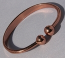 Magnetic Solid Copper Torque Bracelet ( CCB-MB1 )