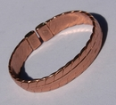 Magnetic Solid Pure Copper Heavy Mans Bracelet ( CCB-MB29 )