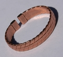 Non Magnetic Solid Pure Copper Heavy Mans Bracelet ( CCB-NMBB70 )