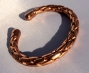 Magnetic Solid Copper Entwined Bracelet ( CCB-MB90 )